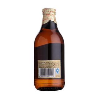 TSINGTAO 青岛啤酒 高端小棕金质 296ml*24瓶