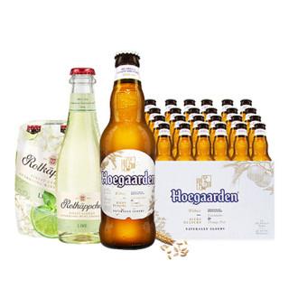 Hoegaarden 福佳 白啤酒   330ml*24瓶
