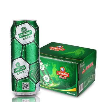 TSINGTAO 青岛啤酒 啤酒 (500mL、12、听装)