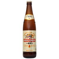 KIRIN 麒麟 黄啤酒   600ML*12瓶