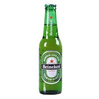 Heineken 喜力 啤酒 (330mL、24、瓶装)
