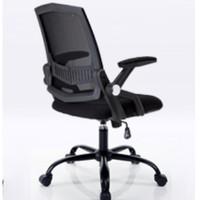 历史低价 : BAJIUJIAN 八九间 TO-521-W-B 电脑椅 (黑框黑网)