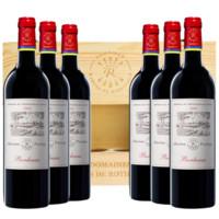 LAFITE 拉菲 干红葡萄酒   整箱装 750ml*6