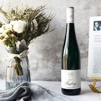 露森 德国原瓶进口 DR.LOOSEN雷司令摩泽尔产区半甜酒 白葡萄酒750ml 单支装 *2件