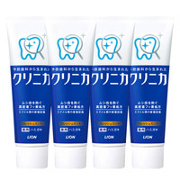 LION 狮王 齿力佳健齿牙膏 (温和薄荷)特惠装130g*4(日本原装进口)