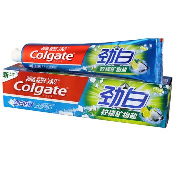 Colgate 高露洁 牙膏家庭超值装(送泰迪熊丛林杯)