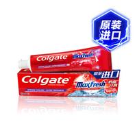 高露洁(Colgate)justin黄明昊同款鸡血牙膏133g *2件