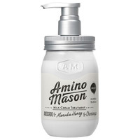 Amino mason 牛油果无硅油滋养型护发素450ml 深层滋养修复