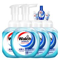 Walch 威露士 泡沫洗手液套装225ml*4个+免洁20ml*2个