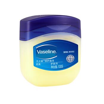 Vaseline 凡士林 经典修护晶冻 (富含膏状滋润/保湿润肤霜手霜) 1件 100g