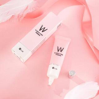 W.LAB 粉色妆前乳隔离霜女 细致毛孔隐形隔离控油保湿遮瑕 粉色素颜霜妆前乳35g