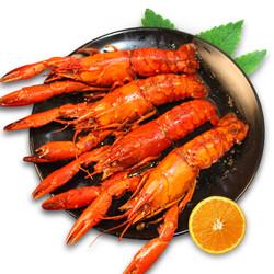 隆上记 熟冻香辣澳洲小龙虾1.5kg 净虾1kg+烤鱼 580g