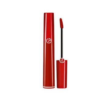 GIORGIO ARMANI 乔治·阿玛尼 臻致丝绒哑光唇釉 口红 #405 红管哑光 豆沙色番茄红色 6.5ml 3605522075283