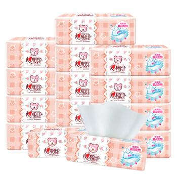 心相印 抽纸用纸整箱3层 (15包、3层)