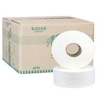 Breeze 清风 BJ02AB 卫生纸卷筒厕纸手纸大卷纸 240米 (12卷、有芯卷纸、2层)
