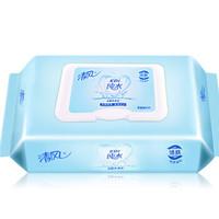 Breeze 清风 抽取式柔湿纸巾车载式家庭装卫生湿巾80片/包 12包整箱