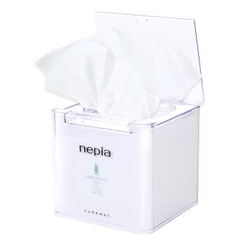 nepia 妮飘 WFR32-AB 抽取式湿巾 1盒装+6包替换装湿巾 共224片