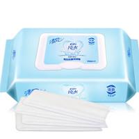 Breeze 清风 EDI纯水湿巾80片/包 带盖抽取式洁肤柔湿纸巾12包