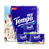 Tempo 得宝 T0153*3 印花纸手帕 (36包、3层)