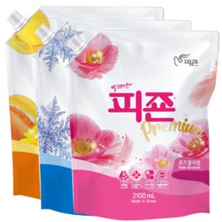 MUMU 碧珍 衣物护理液  3袋装 2.1L