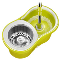 太太乐 双驱动旋转拖把桶 绿色 (3.0kg) *2件