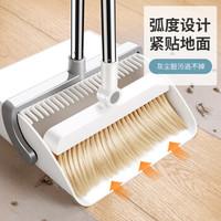 佳帮手 JBS-TS-803-ZDK 防风扫把簸箕套装 折叠款 (扫把头*1、簸箕*1、扫把杆子*1、簸箕杆子*1、加长杆*2、0.9kg)