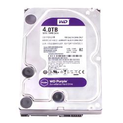 WD/西部数据WD40EJRX 西数4T机械硬盘台式机电脑监控级紫盘
