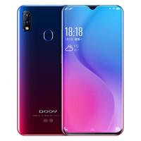 朵唯(DOOV) D1 梦幻紫 4GB+64GB 微信八开 水滴屏智能手机 全网通4G手机