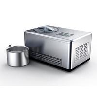 PETRUS 柏翠 IC8608C 冰淇淋机 (银色、2L)