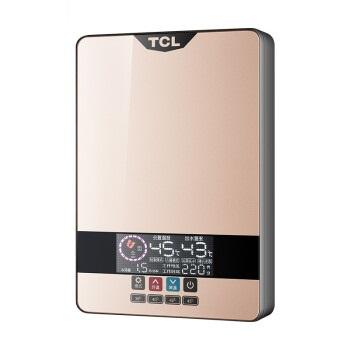 TCL TDR-603TM  60L 即热式电热水器   快速加热恒温洗澡机免储水 香槟金标准款 (60L)