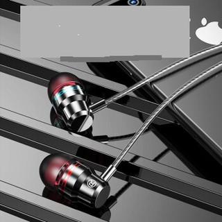 biaosen 标森 重低音耳机 入耳式有线 手机游戏吃鸡K歌耳麦电脑通用    i6 (黑色 、通用、入耳式)