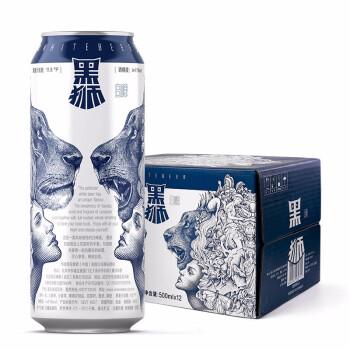 SNOWBEER 雪花 白啤酒 (500mL、12、4.1、听装、11.8)