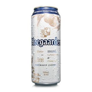 Hoegaarden 福佳 精酿白啤酒 4.9度 500ml*18听