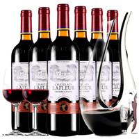 CHATELAIN LAFLEUR 拉斐 干红葡萄酒   6支整箱装 750mL