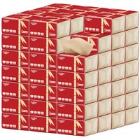 Zooing 竹林子 竹纤维本色原浆纸 红本  30包  4层 (30包4层、4层)
