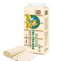 Tralin 泉林本色 780克36卷 本色原浆纸不漂白不添加食品级 母婴专用 家用厕纸卫生纸 (36卷、无芯卷纸、3层)