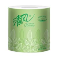 Breeze 清风 商用卷筒纸平纹250段圆点压花 (100卷、有芯卷纸、2层)