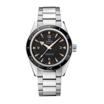 OMEGA 欧米茄 海马系列 233.30.41.21.01.001 男士机械手表 41mm 黑盘 钢带 圆形