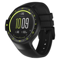 Ticwatch S运动智能手表蓝牙wifi独立通话电话手表男女 NFC支付防水GPS计步测心率支持安卓ios 峭壁黑