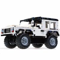 京东PLUS会员:DOUBLE E 双鹰 咔搭 C51004 积木拼装车 遥控路虎卫士