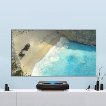 XGIMI 极米 投影机 (1920X1080dpi、激光电视、3500 ANSI流明、智能系统,无线同屏,有线同屏、60-120英寸)