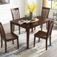 ASHLEY 爱室丽家居 D5401-225 美式餐桌椅组合 一桌四椅