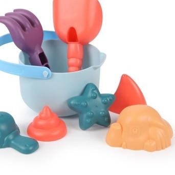 知识花园 儿童沙滩玩具套装 8件套
