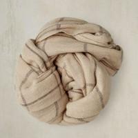 Anderson&Sheppard 羊绒格纹围巾