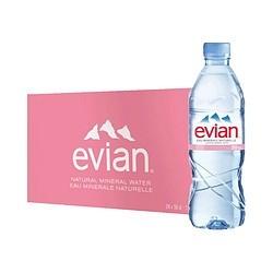 88VIP : Evian 依云 天然矿泉水 500ml*24瓶 *2件