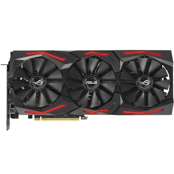 ASUS 华硕 猛禽 ROG-STRIX-GeForce RTX 2080 SUPER-O8G-GAMING OC 显卡 8GB