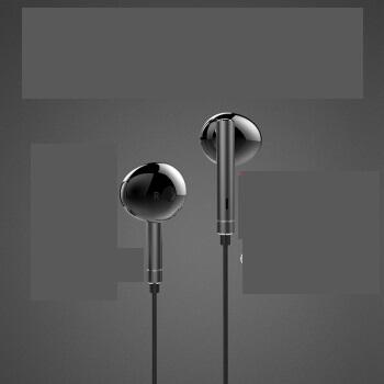 HUAWEI 华为 耳机原装荣耀半入耳式有线    AM115,AM116 (黑色 、安卓、入耳式)