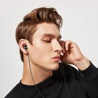 VIKEN 维肯 手机耳机入耳式有线 线控耳塞运动游戏电脑魔音音乐 (黑色 、安卓、入耳式)