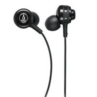 audio-technica 铁三角 入耳式耳挂运动跑步音乐耳机   ATH-COR150 (黑色 、安卓、入耳式)