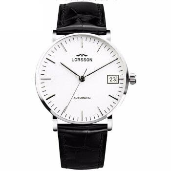 罗臣LORSSON机械男表 德国品牌幽默Humor系列 自动男士手表皮带款情侣腕表